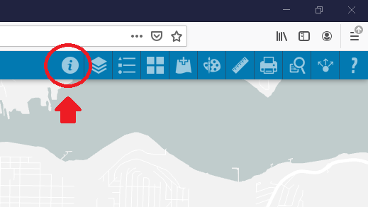 Screen shot of the Property Report icon