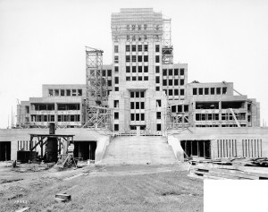 1936 City Hall Construction