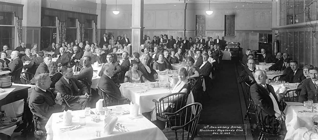 Vagabond Dinner 1924