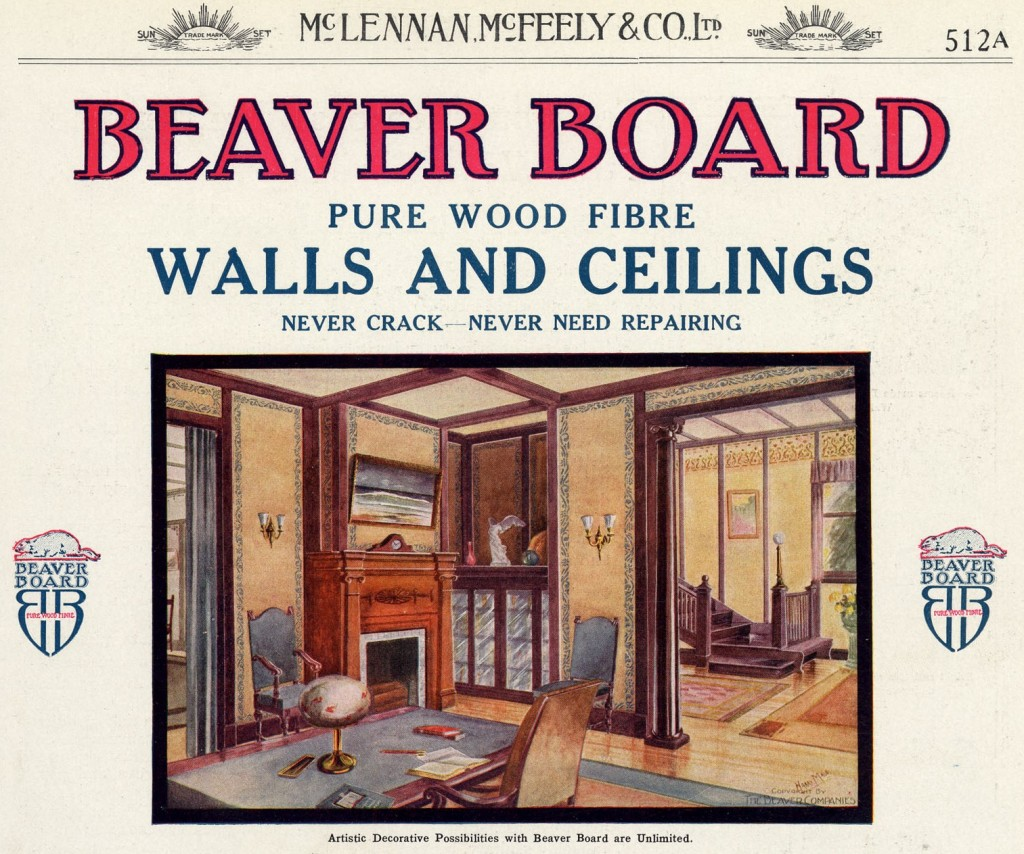 Beaver Board, page 512A