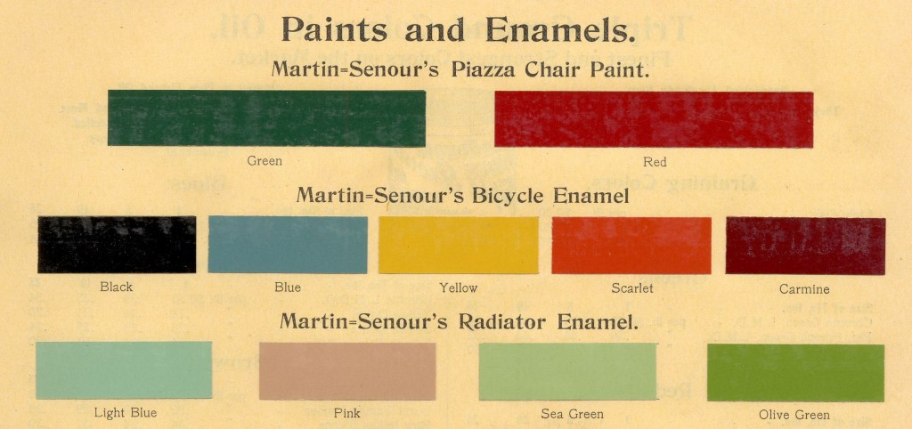 Paints and Enamels, page 811