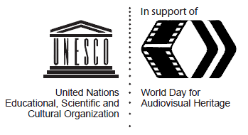World Day for Audiovisual Heritage logo