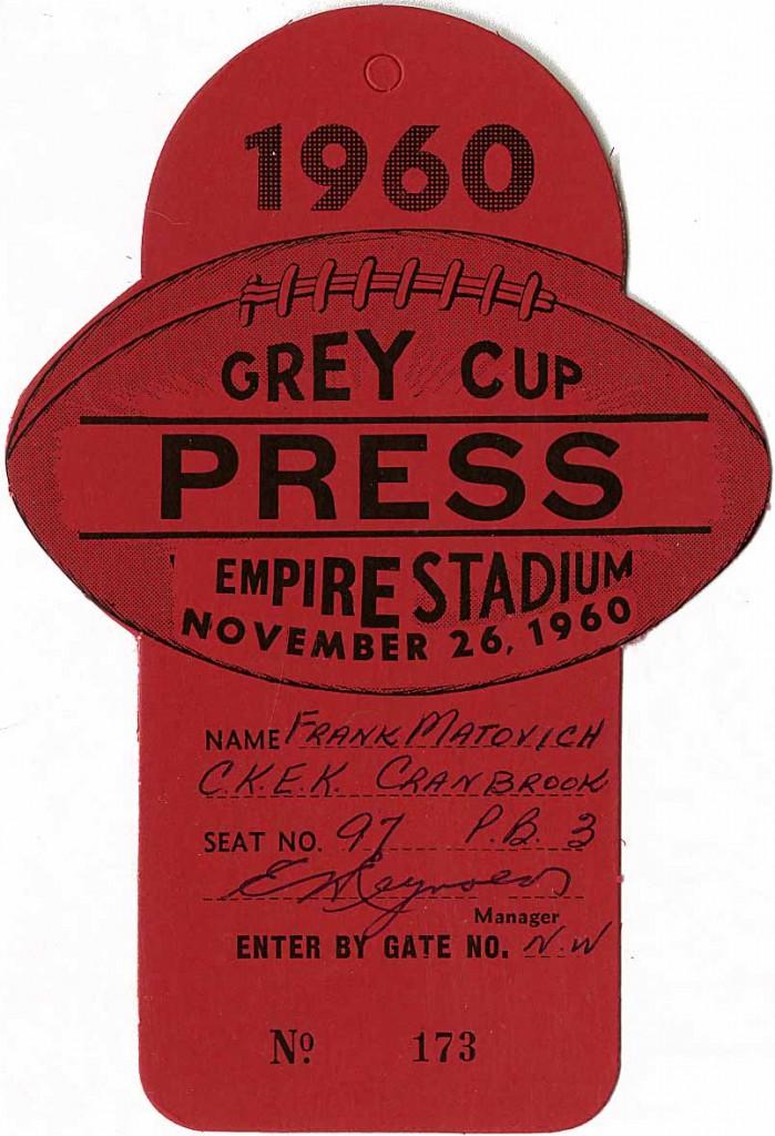1960 Press Pass