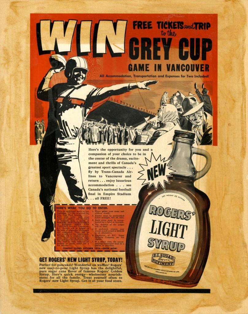 Rogers Sugar Grey Cup contest