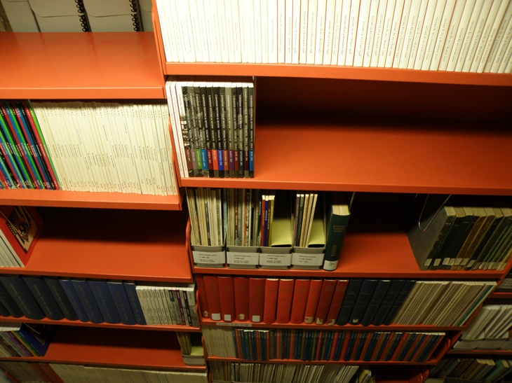 The serials section