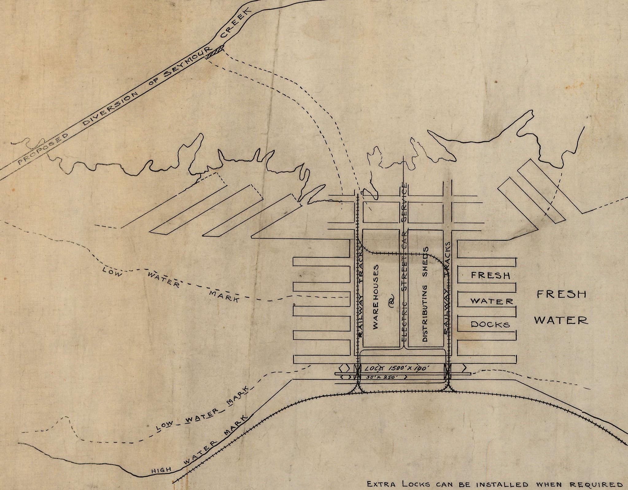 plan of locks