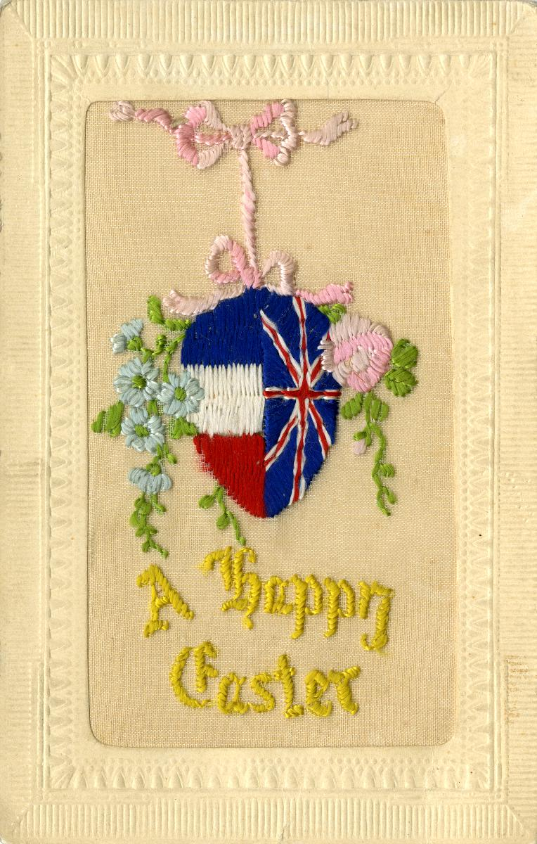 A  Happy Easter! Front view. Reference code: AM1052-: AM1052 P-878