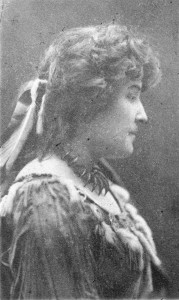 Portrait of E. Pauline Johnson, undated. George T. Wadds, photographer. Reference code AM54-S4-: Port P637