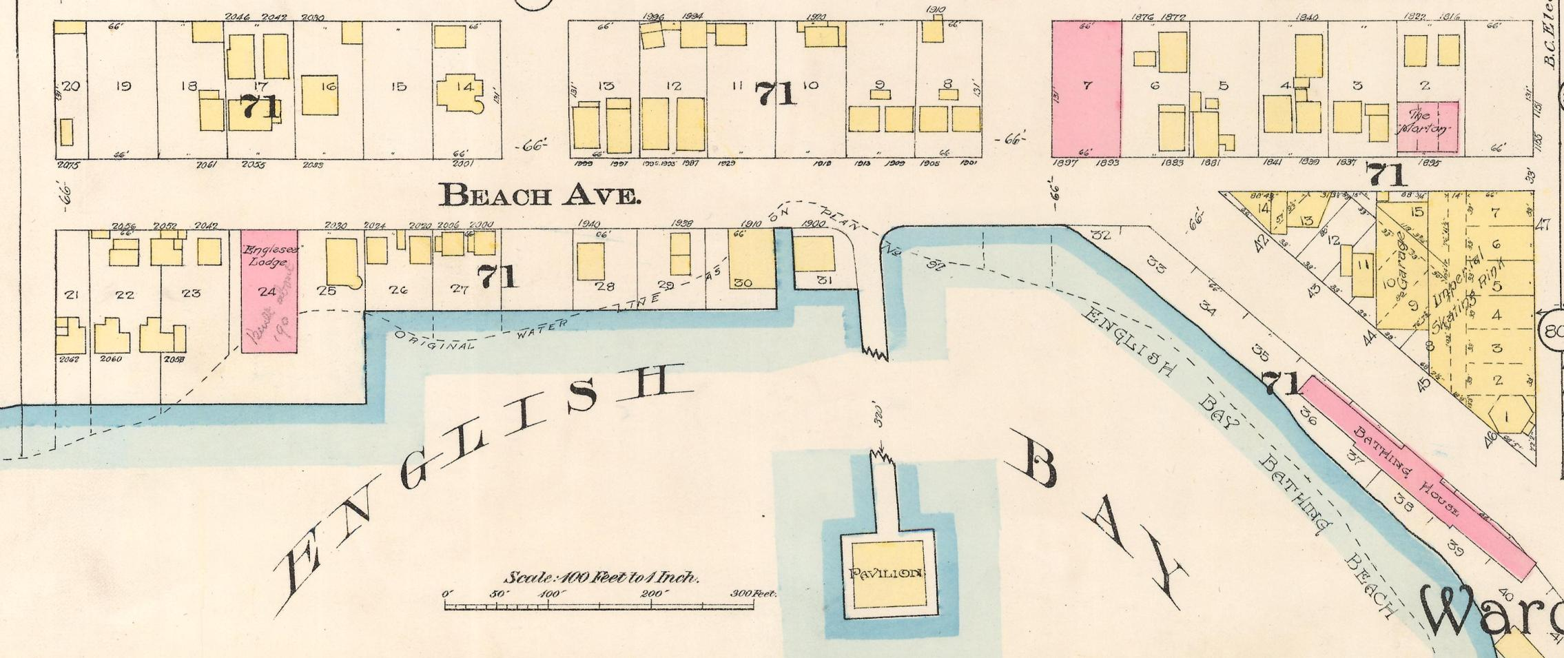 Detail from Plate 8 of MAP 342.