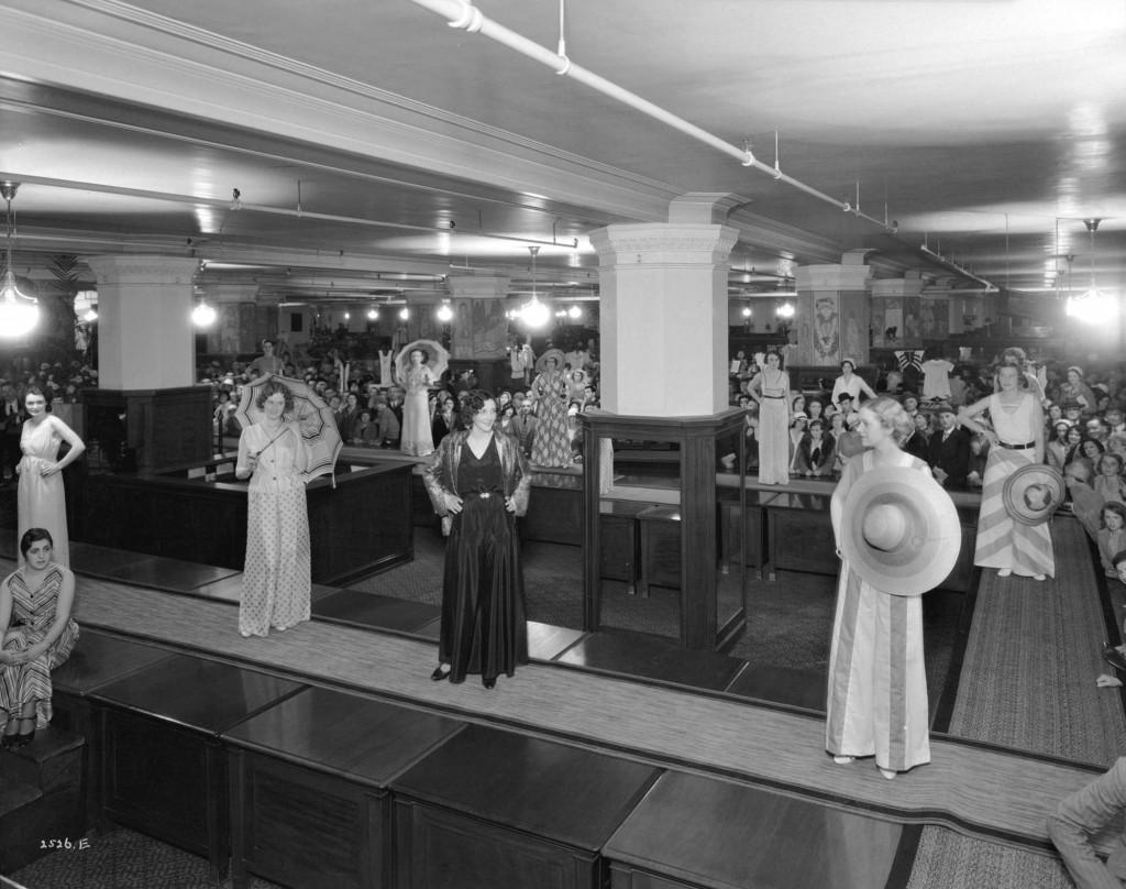 Loungewear fashion show, Hudson's Bay Company, May 31, 1932. Reference code AM1535-: CVA 99-4195. Photographer Stuart Thomson.