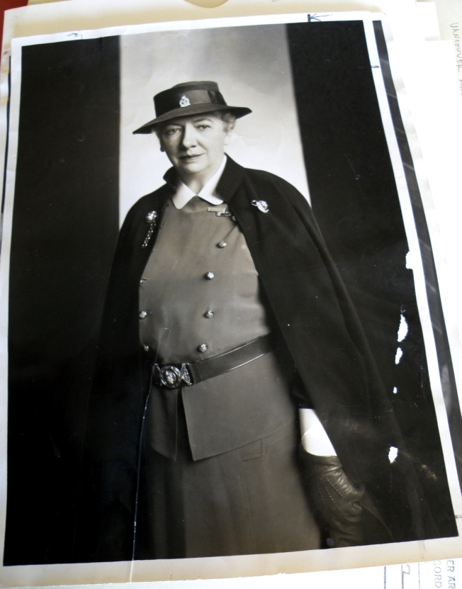 1939 Yousuf Karsh photo of Col. Elizabeth Smellie, O.B.E. Photograph by Cristen Polley
