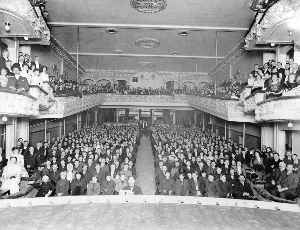 Grand opening night at Lonsdale Theatre (1911). Reference code: AM54-S4-: LP 362
