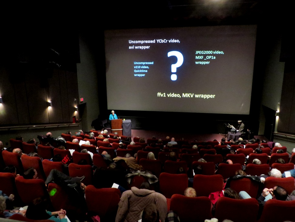Sue Bigelow's preservation talk. Photograph by Jeffery Chong.