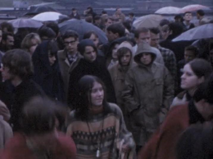 Still from Be-In at Kitsilano Beach (c. 1967). Reference code: AM1487-: MI-590.