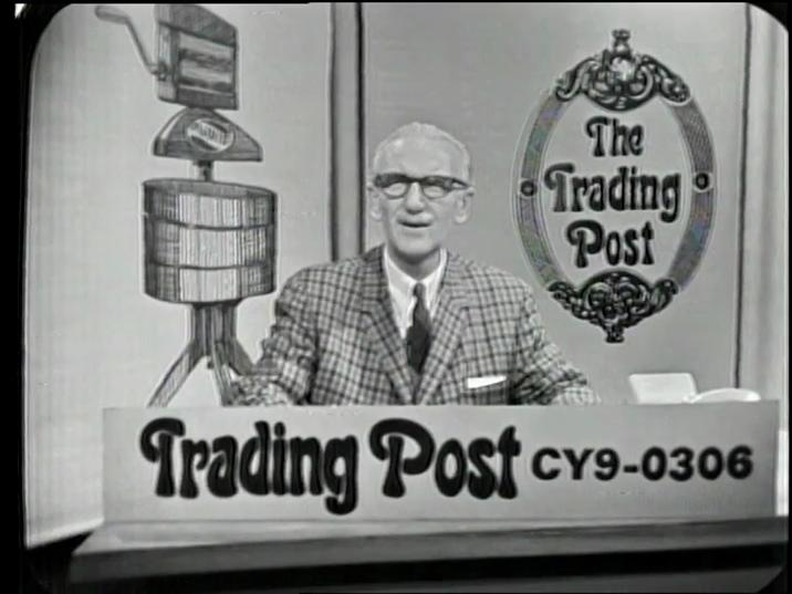 Still from Trading Post (1967). Reference code: AM1487-: LEG188.7.