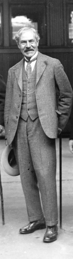 Ex-Prime Minister of Britain Ramsay MacDonald, August 25, 1928. Photographer W.J. Moore. Reference code AM54-S4-: Port P1240.