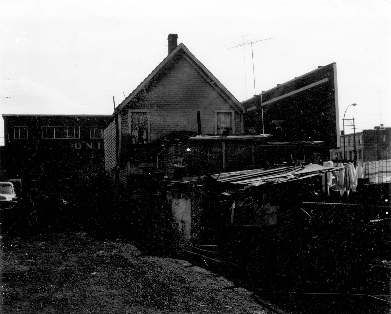 237 Prior Street, back, 1969. Reference code COV-S168-: CVA 203-21