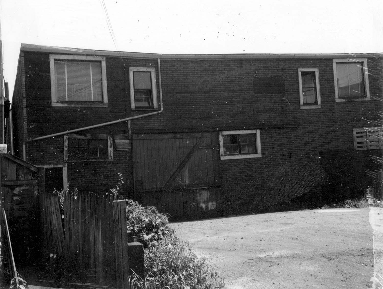 249 Prior Street, back, 1968. Reference code COV-S168-: CVA 203-23
