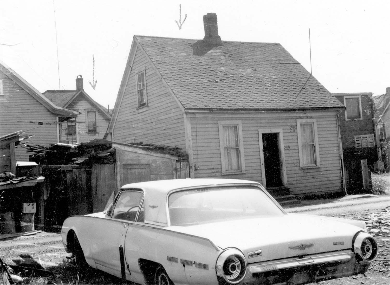 251 Prior Street, back, 1968. Reference code COV-S168-: CVA 203-25