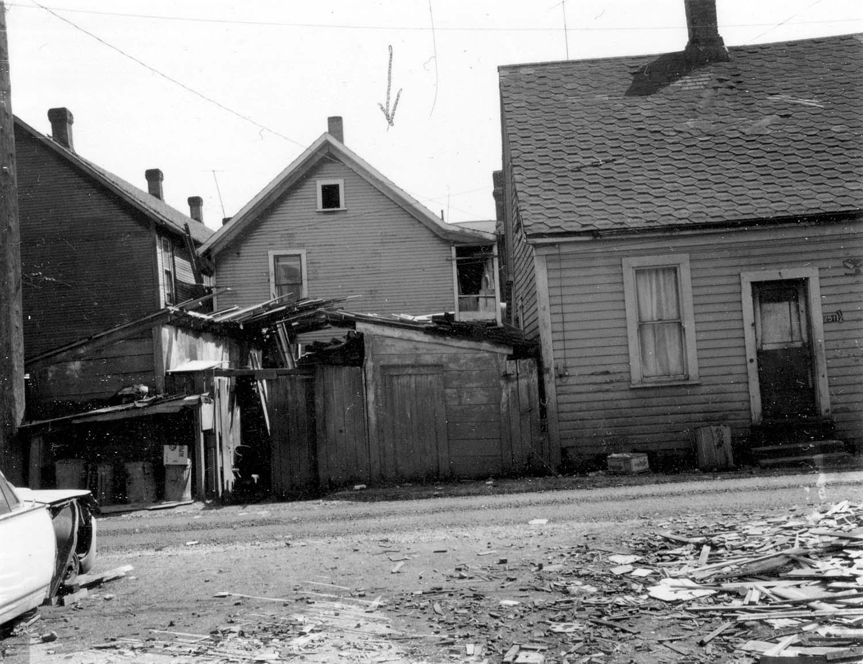 255 Prior Street, back, 1968.Reference code COV-S168-: CVA 203-27