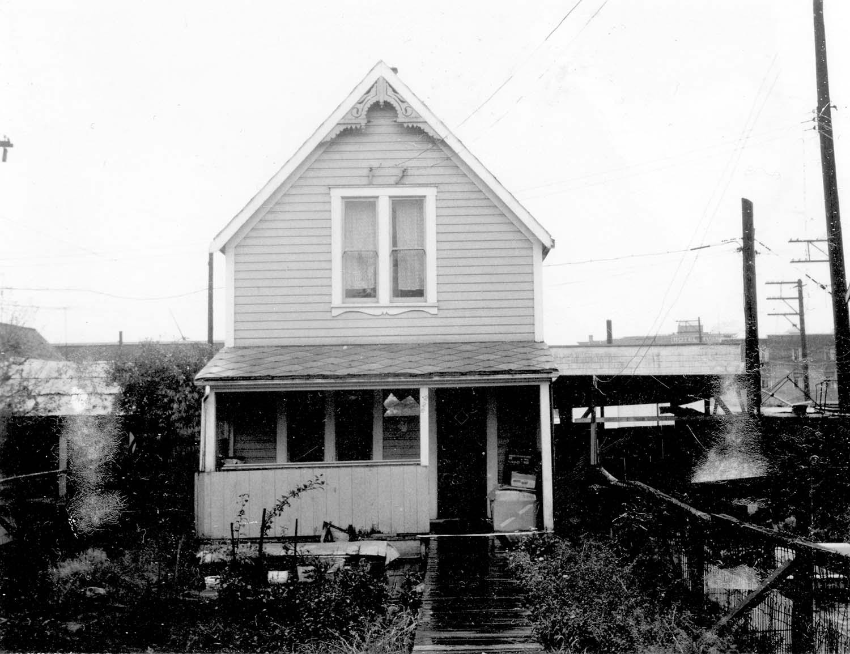226 Union Street, front, 1968. Reference code COV-S168-: CVA 203-40