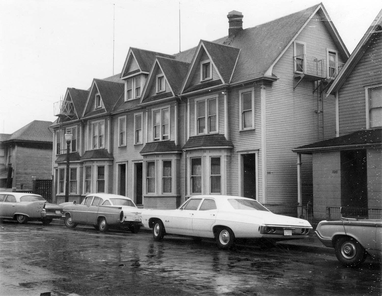 232 - 240 Union Street, front, 1969. Reference code COV-S168-: CVA 203-43