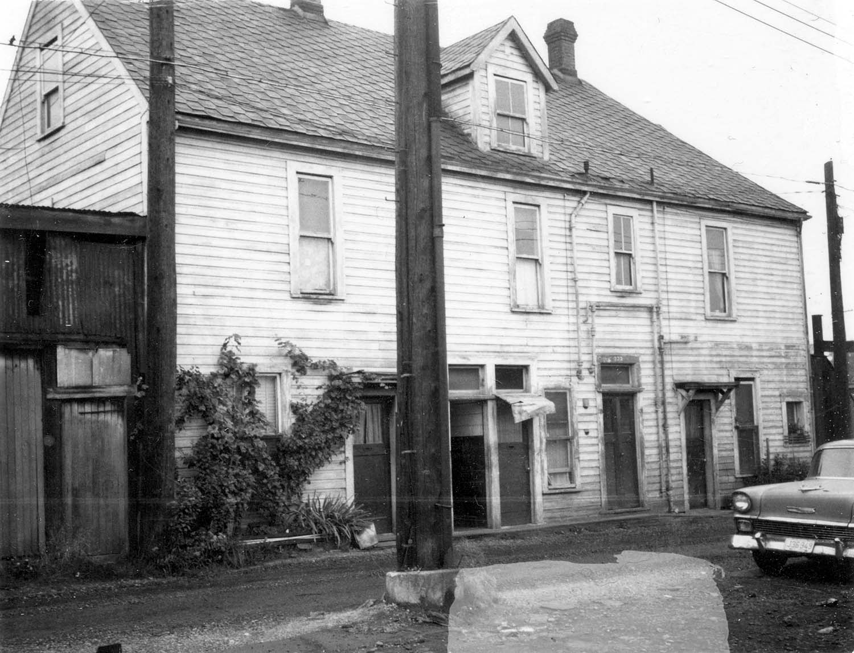 232 - 240 Union Street, side, 1969. Reference code COV-S168-: CVA 203-45