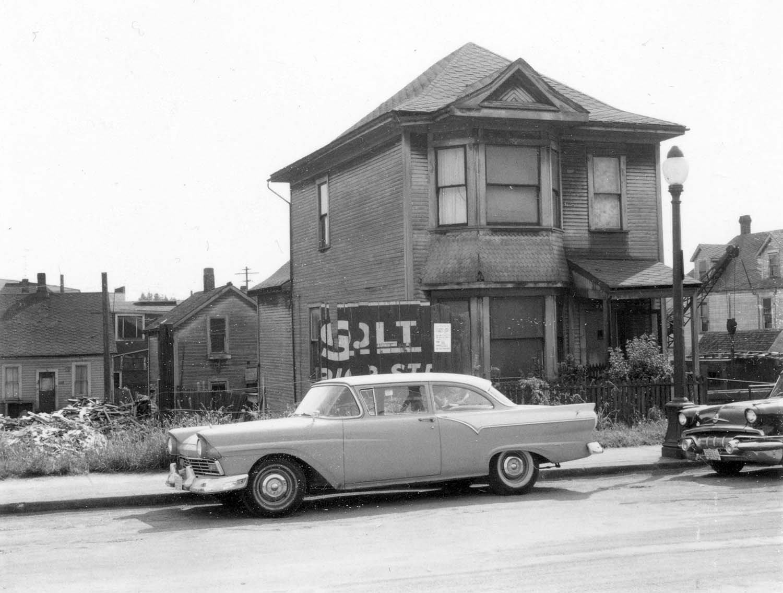 248 - 250 Union Street, front, 1968. Reference code COV-S168-: CVA 203-47