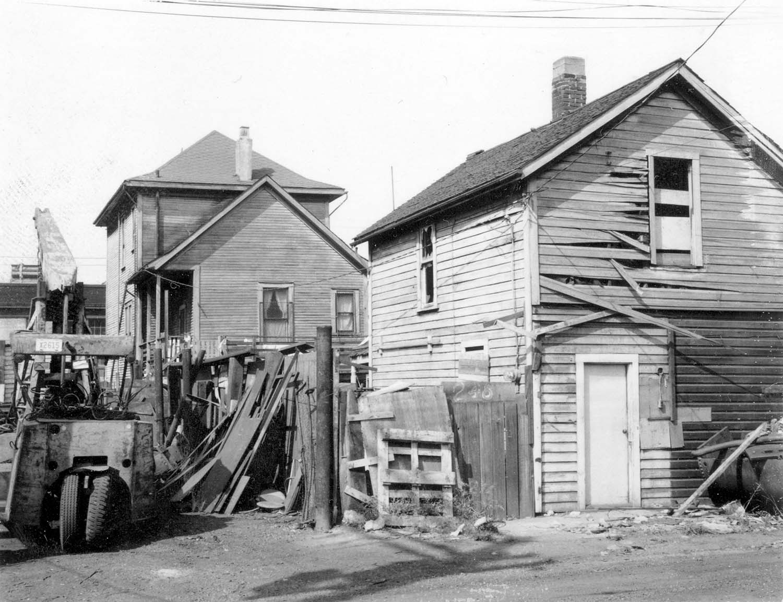 248 - 250 Union Street, back, 1968. Reference code COV-S168-: CVA 203-48