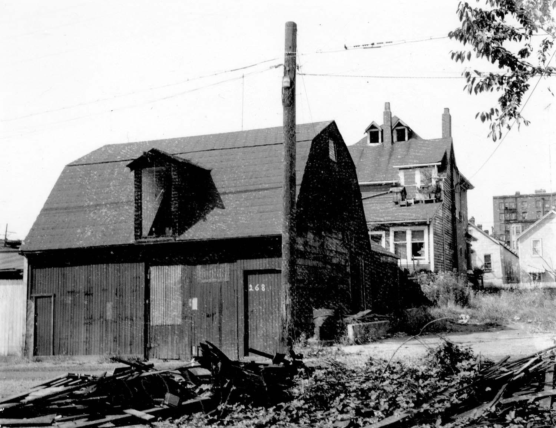 268 Union Street, back, 1968. Reference code COV-S168-: CVA 203-52