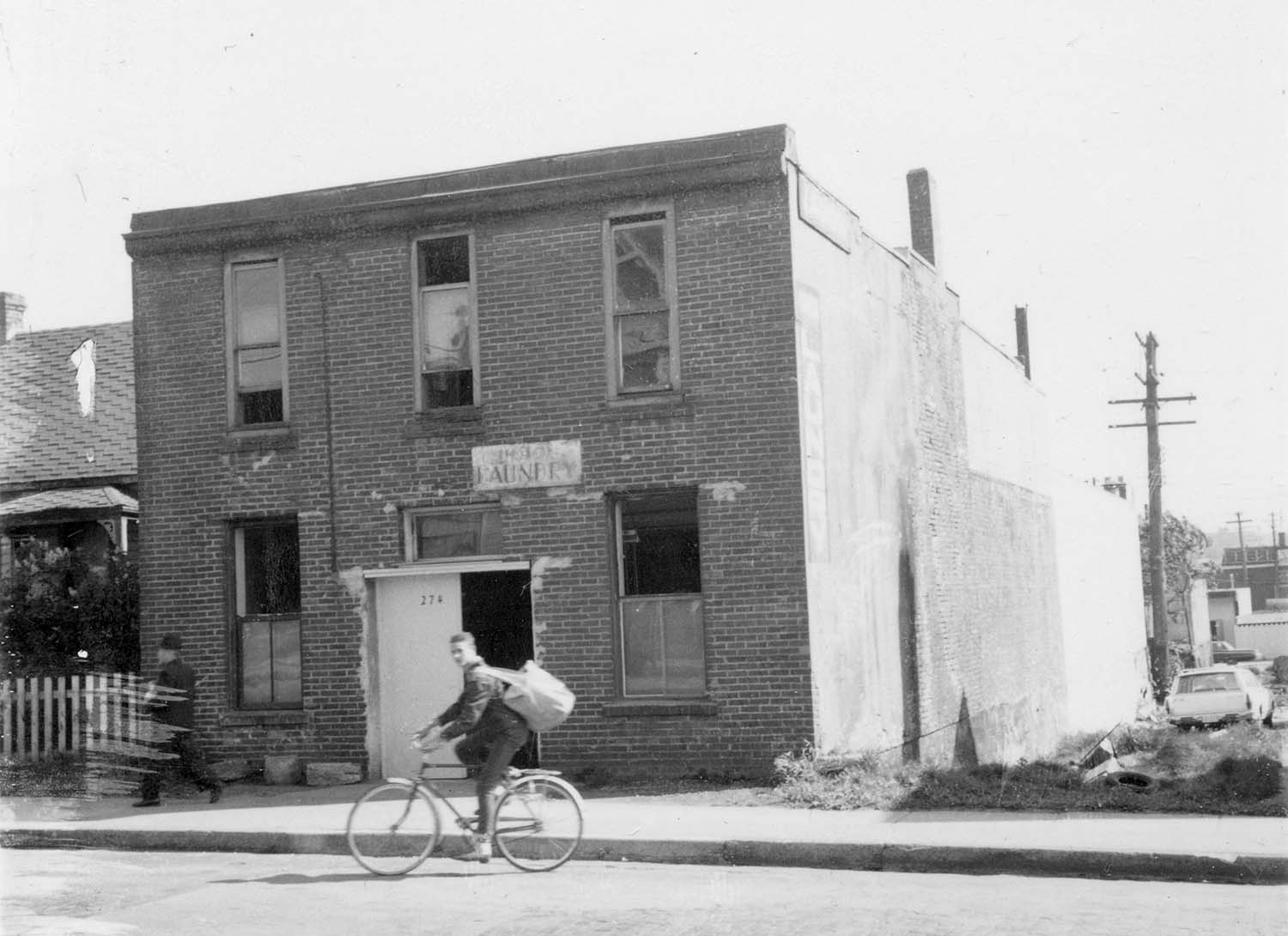 274 - 278 Union Street, 1973. Photograph shows the Union Laundry. Reference code COV-S168-: CVA 203-65