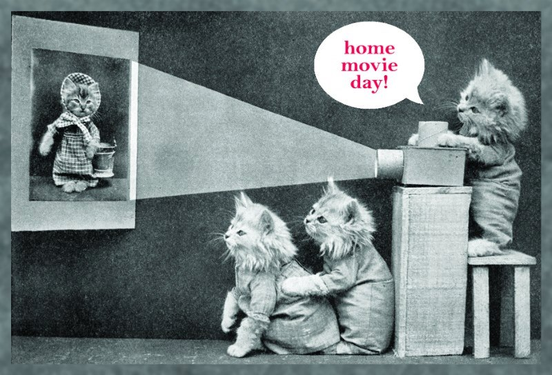 Fun for one and all! Source: Home Movie Day, Center for Home Movies.
