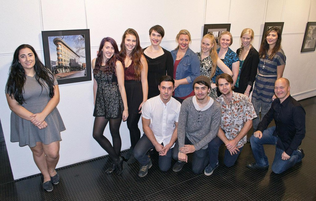 The creators of this year's Merging Time show: Langara's Professional Photo-Imaging Class of 2015.