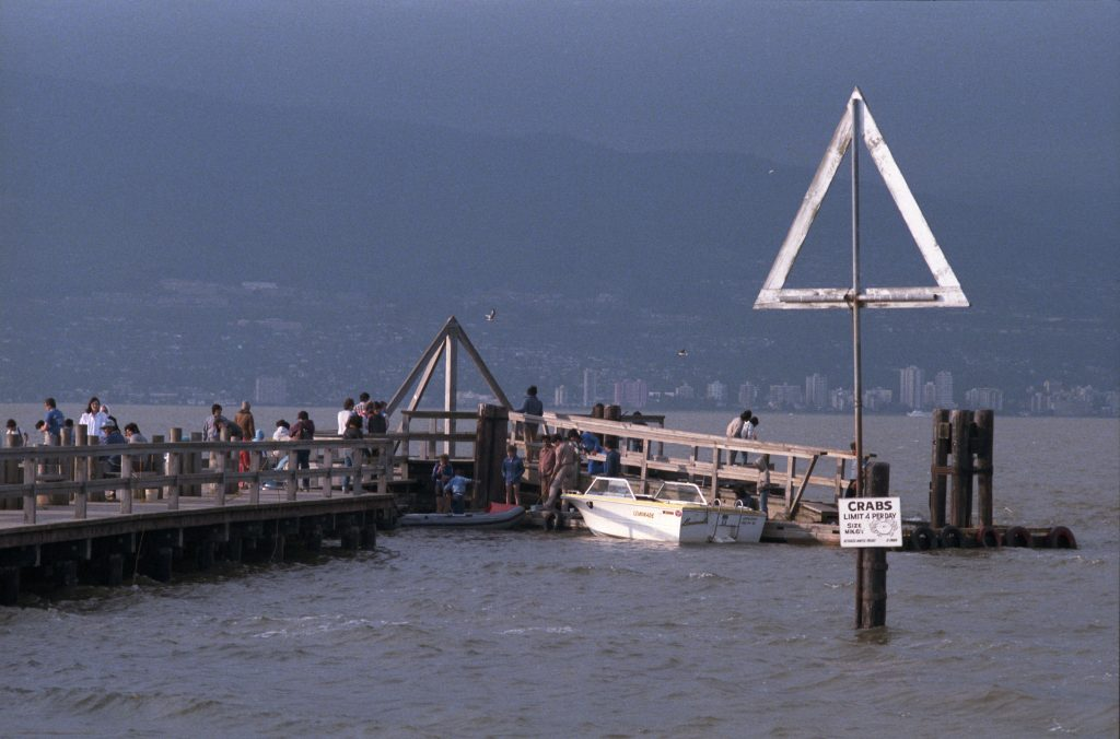 Jericho Pier. Reference code: COV-S477-3-F111-: CVA 775-54.2