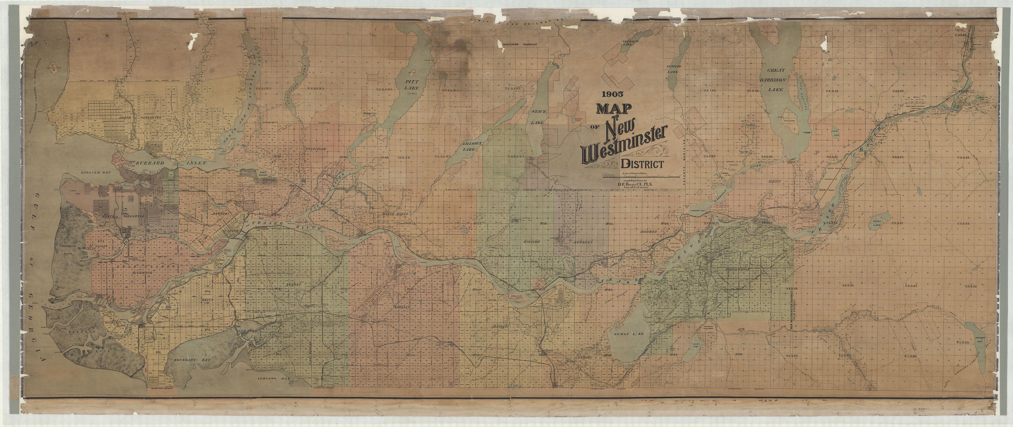 Image of the entire conserved map