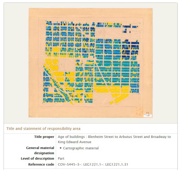 Researchers can access a JPG copy by clicking on the image of the map in the database.