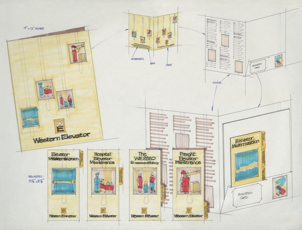 Western Elevator presentation. Reference code: AM1453-S4–Western elevator, Box 972-F-3 folder 5