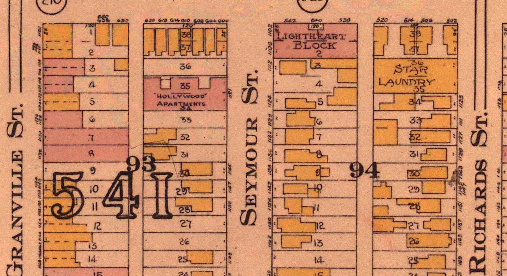 Screenshot from a fire insurance plan.